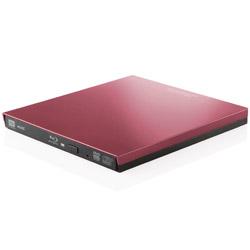 LBD-PVA6UCVRD(レッド) ポータブルブルーレイドライブ Type-C搭載UHDBD対応[USB3.0・Win] 再生・編集・書込ソフト付
