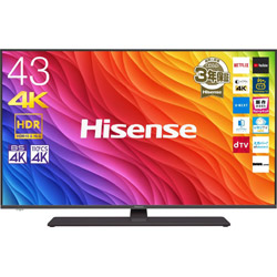 Hisense(ハイセンス) 【在庫限り】【アウトレット】 43A6800 液晶テレビ [43V型 /4K対応 /BS・CS 4Kチューナー内蔵]