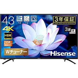 Hisense(ハイセンス) 液晶テレビ 43F68E  [43V型 /4K対応]