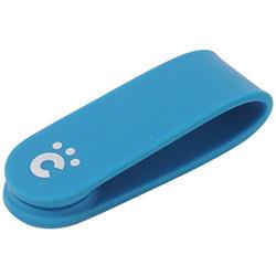 スマートフォン対応 cheero CLIP ブルー CHE-306-BLU