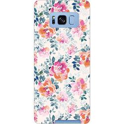 Galaxy S8+ PCケース エレガントフラワー 01_0103_0027_c15_gs8p_m01 エレガントフラワー