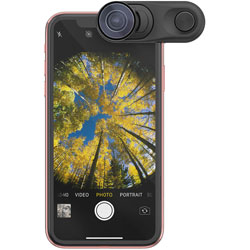 olloclip iPhone XR Fisheye + Macro Essential and Super-Wide Essential OC-0000297-EU