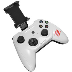 【iPad/iPhone対応】ワイヤレスゲームパッド[Bluetooth・iOS] C.T.R.L.i Mobile Gamepad ホワイト MFi認証 MC-CTRLI-WHZ