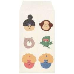 写真袋 ふわり和紙 ぽち袋(チェキinstax mini/桃太郎B/ 5枚入り) MTR10002