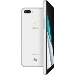 jetfon P6 ホワイト「ELTP18A04」5.7型 メモリ/ストレージ:2GB/16GB nanoSIMx2 DSDV対応 ドコモ/ソフトバンク対応 クラウドSIMスマートフォン