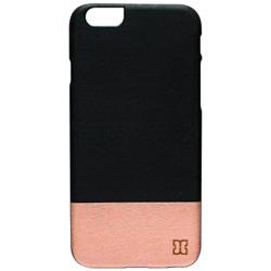 iPhone 6s/6用 天然木ケース Nero ブラックフレーム Man&Wood I6967iP6S