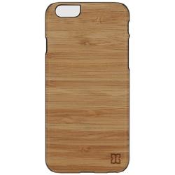 iPhone 6s/6用 天然木ケース Bamboo ブラックフレーム Man&Wood I6968iP6S