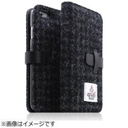 iPhone 6s Plus/6 Plus用 Harris Tweed Diary ブラック SLG Design SD7293i6SP