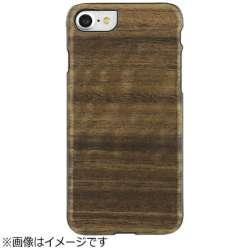 iPhone 7用 天然木ケース Koala ブラックフレーム Man&Wood I8069i7