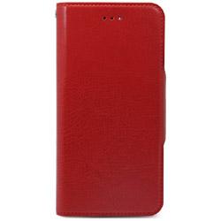 iPhone 7用 手帳型 Super Slim Case レッド HANSMARE HAN8258i7
