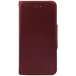 iPhone 7用 手帳型 Super Slim Case ワイン HANSMARE HAN8259i7