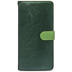 iPhone 7 Plus用 CALF Diary フォレストグリーン HANSMARE HAN8271i7P