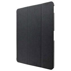 2018 iPad Pro 12.9用 背面クリアフラップケース Clear Note LP-IPPLLCBK ブラック