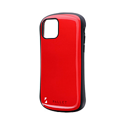iPhone 11 Pro 5.8インチ NEW PALLET 耐衝撃ケース レッド