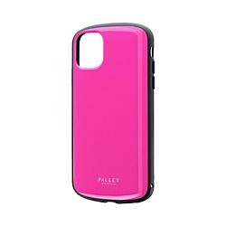 iPhone 11 6.1インチ PALLET AIR 耐衝撃ケース ホットピンク LP-IM19PLAHP