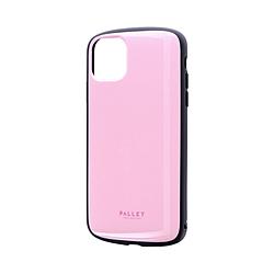 iPhone 11 Pro Max 6.5インチ PALLET AIR 耐衝撃ケース ピンク LP-IL19PLAPK