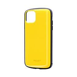 iPhone 11 Pro Max 6.5インチ PALLET AIR 耐衝撃ケース イエロー LP-IL19PLAYE