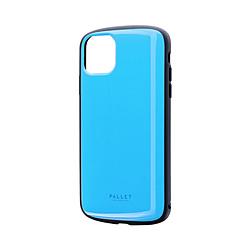 iPhone 11 Pro Max 6.5インチ PALLET AIR 耐衝撃ケース スカイブルー LP-IL19PLABL