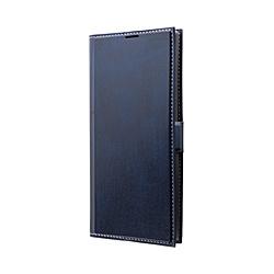Galaxy Note 10+ PRIME 手帳型ケース ネイビー
