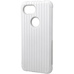 Rib Hybrid Shell Case for Pixel 3a CHC-54518WHT ホワイト