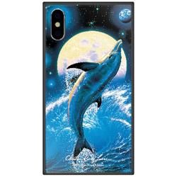 iPhone XS 5.8インチ用 ラッセン ガラスハイブリッド E. THE BALANCE OF LIFE GHP7042BKE