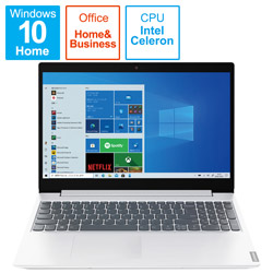 Lenovo(レノボジャパン) ノートパソコン IdeaPad L360i ブリザードホワイト 82HL0093JP [15.6型 /intel Celeron /SSD:256GB /メモリ:4GB /2021年6月]