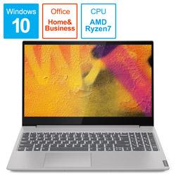 Lenovo(レノボジャパン) ノートPC ideapad S340 Ryzen7 81NC003PJP プラチナグレー [Ryzen 7・15.6インチ・Office付き・SSD 256GB]