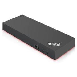 ThinkPad Thunderbolt 3 Workstation ドック 2 - 230W[Thunderbolt3 オス→メス HDMIx2 / DisplayPortx2 / LAN / φ3.5mm / USB-Ax5 / USB-C]  ブラック 40ANY230JP
