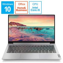 モバイルノートPC ideapad S340 i5 81UM0022JP プラチナグレー [Core i5・13.3インチ・Office付き・SSD 512GB・メモリ 8GB]