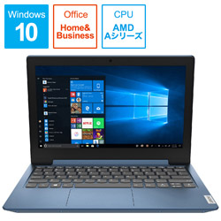 Lenovo(レノボジャパン) ノートパソコン 81VR001CJP アイスブルー [11.6型 /AMD Aシリーズ /SSD:128GB /メモリ:4GB /2020年1月モデル]