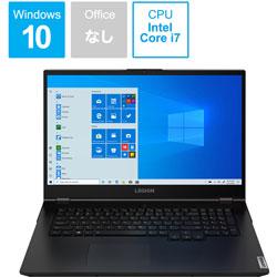 81Y80032JP ゲーミングノートパソコン Legion 550i ファントムブラック [17.3型 /intel Core i7 /SSD:1TB /メモリ:16GB /2020年6月モデル]