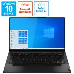 ノートパソコン Yoga Slim 9 14ITL5 シャドーブラック 82D10006JP [14.0型 /intel Core i7 /SSD:1TB /メモリ:16GB /2021年1月モデル]