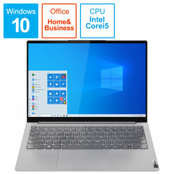 Lenovo(レノボジャパン) ノートパソコン YogaSlim750i ライトシルバー 82CU000LJP [13.3型 /intel Core i5 /SSD:256GB /メモリ:8GB /2020年12月モデル]