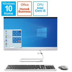 Lenovo(レノボジャパン) 【店頭併売品】 F0EU00FRJP デスクトップパソコン IdeaCentre AIO350i ホワイト [23.8型 /intel Core i5 /HDD:1TB /SSD:256GB /メモリ:8GB /2020年12月モデル]