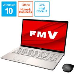 FUJITSU(富士通) ノートパソコン LIFEBOOKNH90/E2 シャンパンゴールド FMVN90E2G [17.3型 /intel Core i7 /HDD:1TB /Optane:16GB /SSD:256GB /メモリ:8GB /2020年6月モデル]