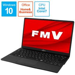 ノートパソコン LIFEBOOK UH90/E3 ピクトブラック FMVU90E3B [13.3型 /intel Core i7 /SSD:512GB /メモリ:8GB /2020年冬モデル]