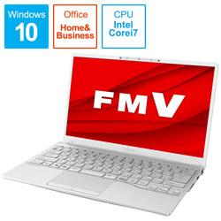 ノートパソコン LIFEBOOK UH90/E3 シルバーホワイト FMVU90E3W [13.3型 /intel Core i7 /SSD:512GB /メモリ:8GB /2020年冬モデル]