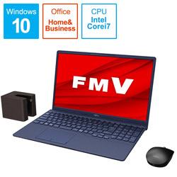 ノートパソコン LIFEBOOK TH77/E3 インディゴブルー FMVT77E3L [15.6型 /intel Core i7 /SSD:512GB /メモリ:8GB /2020年冬モデル]