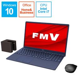 ノートパソコン LIFEBOOK TH77/E3 インディゴブルー FMVT77E3LB [15.6型 /intel Core i7 /Optane:32GB /SSD:512GB /メモリ:8GB /2020年冬モデル]