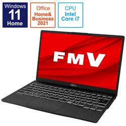 ノートパソコン LIFEBOOK UH90/F3 ピクトブラック FMVU90F3B [13.3型 /intel Core i7 /メモリ:8GB /SSD:512GB /2021年10月モデル]
