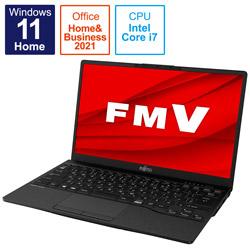 ノートパソコン LIFEBOOK UH-X/F3 ピクトブラック FMVUXF3B [13.3型 /intel Core i7 /メモリ:16GB /SSD:512GB /2021年10月モデル]