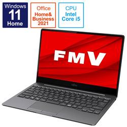 ノートパソコン LIFEBOOK CH90/F3【有機EL】 ダークシルバー FMVC90F3S [13.3型 /intel Core i5 /メモリ:8GB /SSD:512GB /2021年10月モデル]