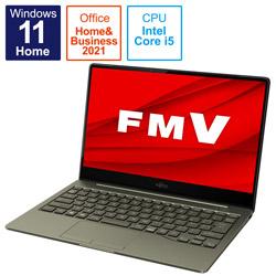 ノートパソコン LIFEBOOK CH90/F3【有機EL】 カーキ FMVC90F3K [13.3型 /intel Core i5 /メモリ:8GB /SSD:512GB /2021年10月モデル]