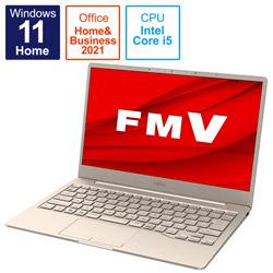 ノートパソコン LIFEBOOK CH75/F3 ベージュゴールド FMVC75F3G [13.3型 /intel Core i5 /メモリ:8GB /SSD:256GB /2021年10月モデル]