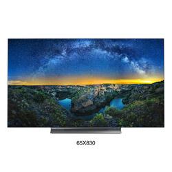 有機ELテレビ65V型   65X830 [65V型 /4K対応 /BS・CS 4Kチューナー内蔵 /YouTube対応]