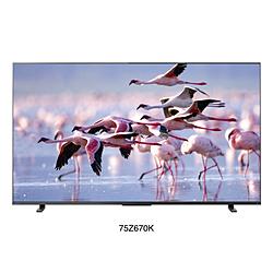 液晶テレビ REGZA(レグザ)  75Z670K [75V型 /4K対応 /YouTube対応]