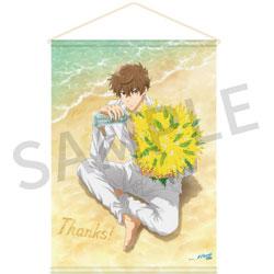 京都アニメーション Free! Series Birthday Presents Thanks! Birthday タペストリー【夏也】