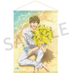 京都アニメーション Free! Series Birthday Presents Thanks! Birthday タペストリー【真琴】