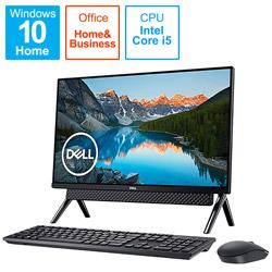DELL(デル) FI557-9WHBBC デスクトップパソコン Inspiron 24 5490 ブラック [23.8型 /HDD:1TB /SSD:256GB /メモリ:8GB /2019年秋冬モデル]