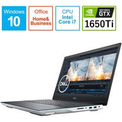 NG385-ANHBCW ゲーミングノートパソコン New Dell G3 15 ホワイト [15.6型 /intel Core i7 /SSD:512GB /メモリ:16GB /2020年夏モデル]